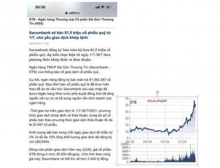 STB là một cp hồi sinh từ vực thẳm (câu chuyện cổ phiếu này như thế nào?)